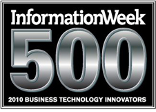InformationWeek 500, 2010 Business Technology innovators logo